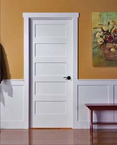 Shaker 5-panel Door