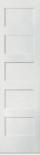 5-panel shaker door narrow widths