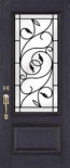 Brela Wrought Iron Door Glass
