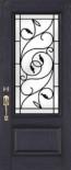 Brela Wrought Iron Door Glass