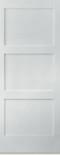 """Shaker Door 3-panel 26"""" Wide"""