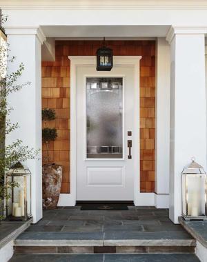 """Novatech """"Chanelle"""" decorative front door"""