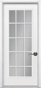 15-Lite Pre hung Steel Door
