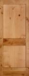 2 Panel Shaker Knotty Alder