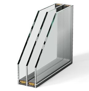 Triple Layer Insulating Glass