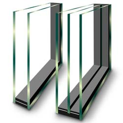 Insulating glass-double and triple layer