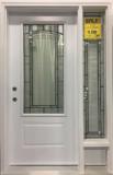 Door and Sidelite Modena Design