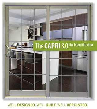 Capri 3.0 Vinyl Patio Sliding Door