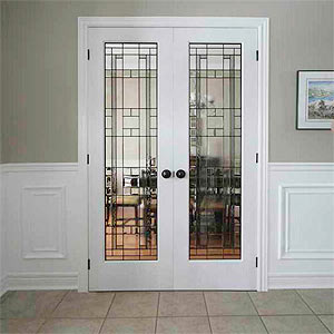 Lexington French double door
