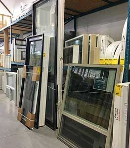 Surplus Vinyl Windows in Stock