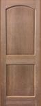 2 Panel arch top cherry interior door