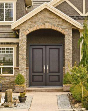 Mennie Double Fiberglass Doors