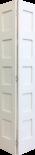 5 Panel Shaker Bifold Door