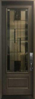 8 foot fiberglass door Novatech Kalima