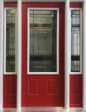 Entry Door and Two Sidelites Harlow Design