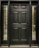 6 panel colonial fiberglass door therma-tru sidelites